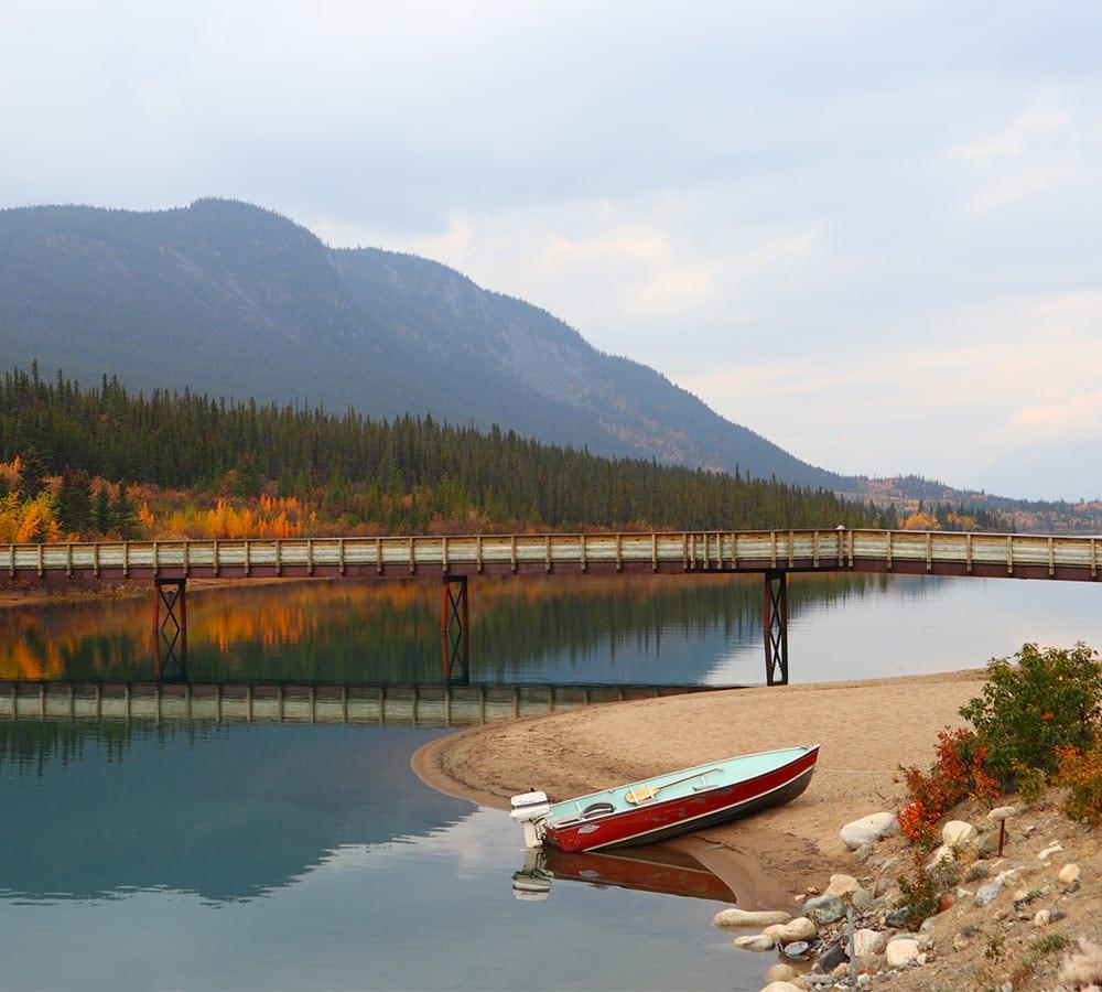 Water in Yukon - Daphne