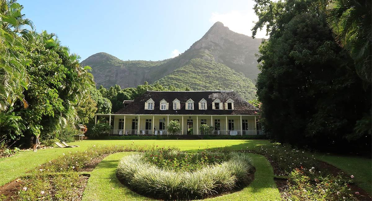 Landhuis op Mauritius