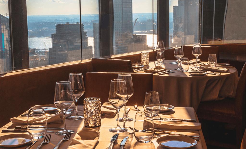 Bijzondere restaurants in New York \ The View