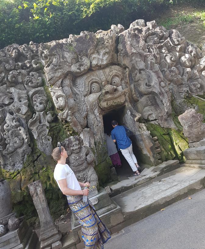 Tempels op Bali: de Goa Gajah