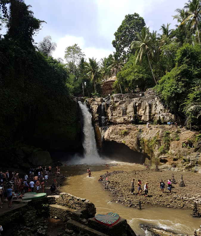 Waterval in Ubud