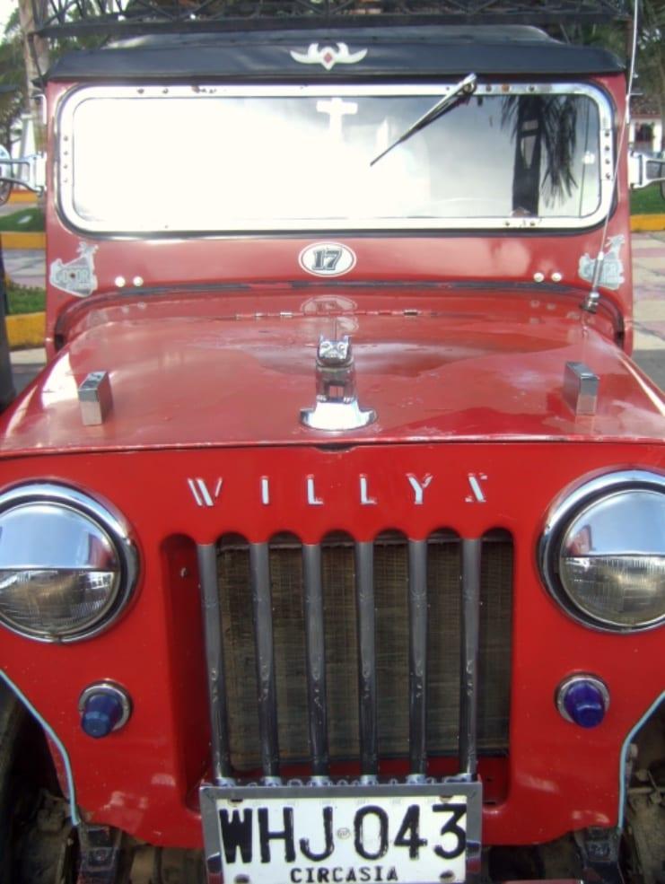 Jeep 4x4 voor je Colombia reis!