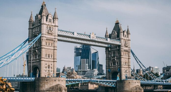 De Tower Bridge in Londen