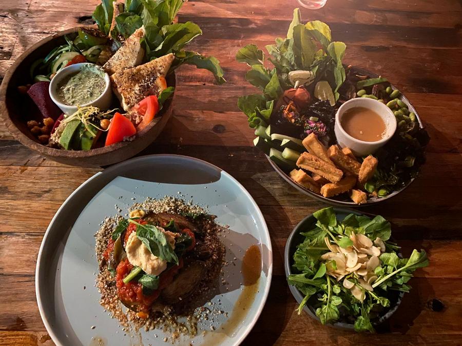 Vegan gerecht voor lekker vegan eten op Bali