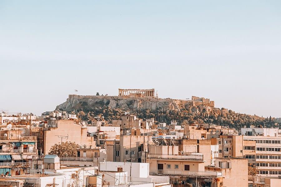 athene griekenland budget vriendelijk