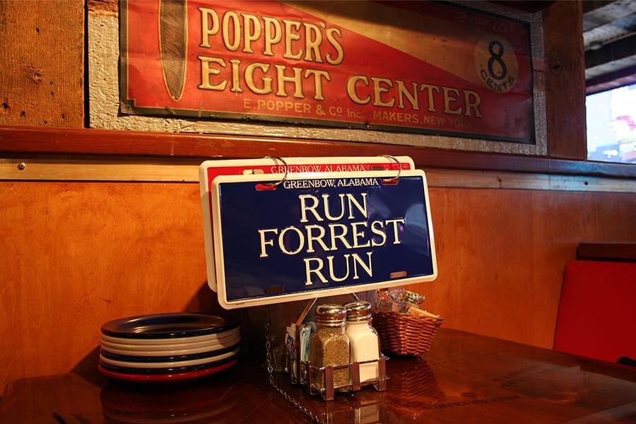 Bijzondere restaurants in New York \ Bubba Gump