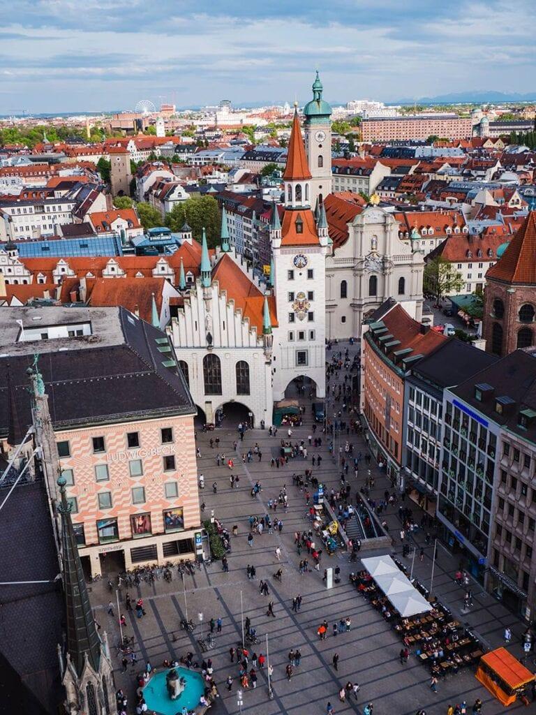 citytrip naar München