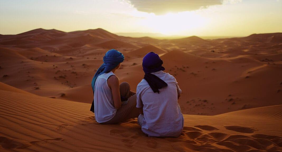 roadtrip door marokko