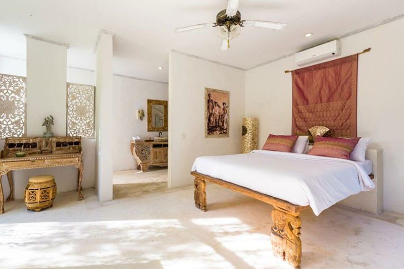 Interieur kamer hotel Boho Bali