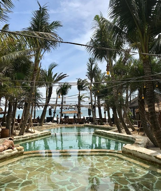 Zwembad van La Brisa op Bali