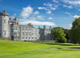 Het Dromoland Castle in Ierland