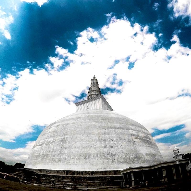 Stupa in Anuradhapura