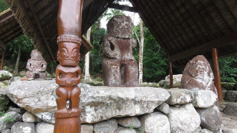 Polynesische beelden