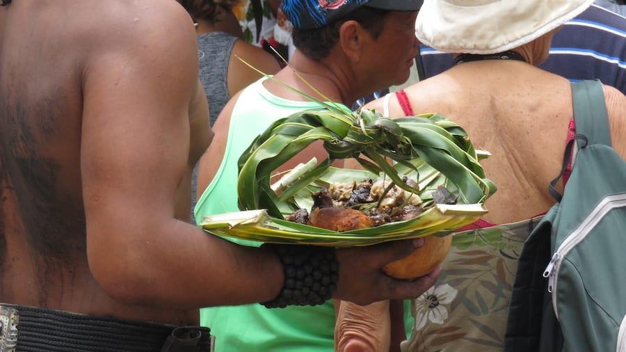Traditioneel Polynesisch eten