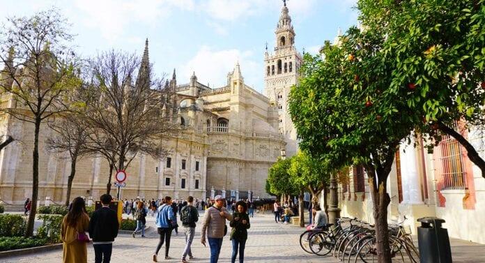 De kathedraal van Sevilla
