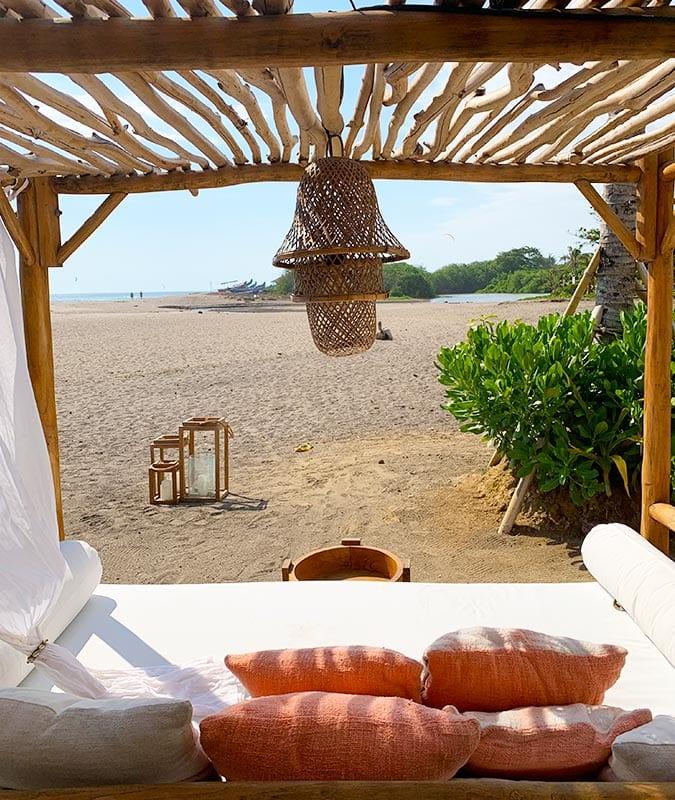 La Vela op Bali genieten aan het strand