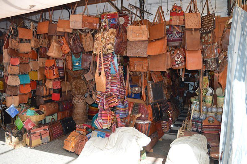 straatjes in Marrakech, een van de Marokkaanse Koningssteden