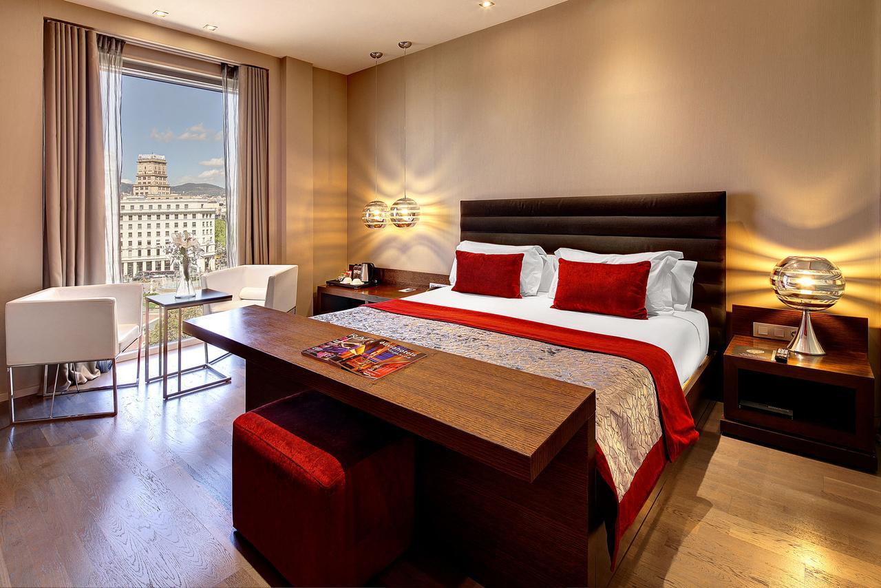 kamer van het op 2 na best beoordeelde hotel in Barcelona Olivia Plaza Hotel