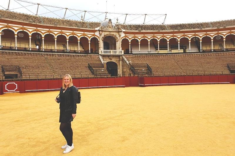 Plaza de Torros in Sevilla