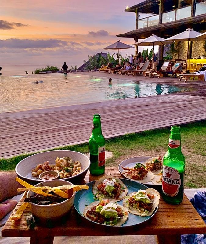 Een van de eukste restaurants op Bali is Mana voor Mexicaans eten