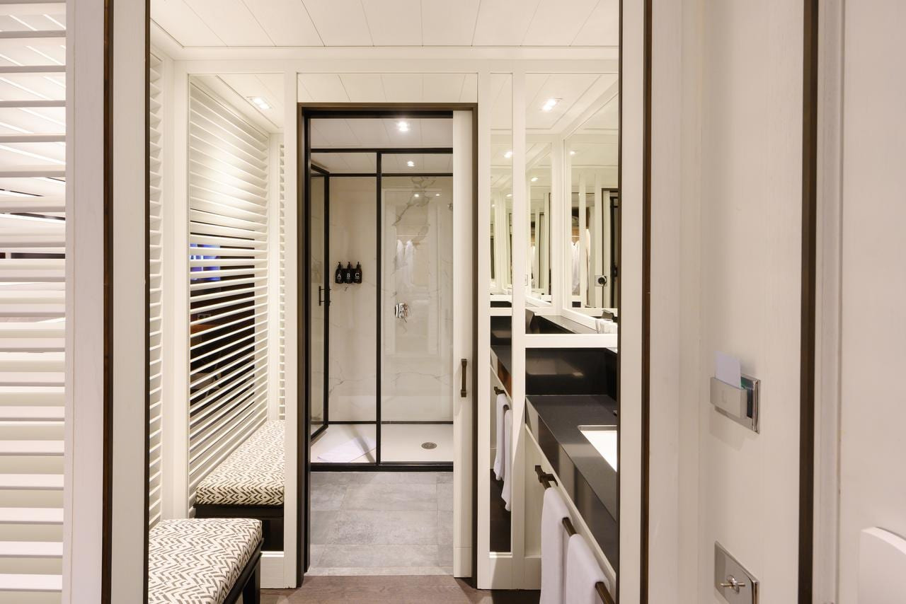 Badkamer in Hotel Seventy Barcelona