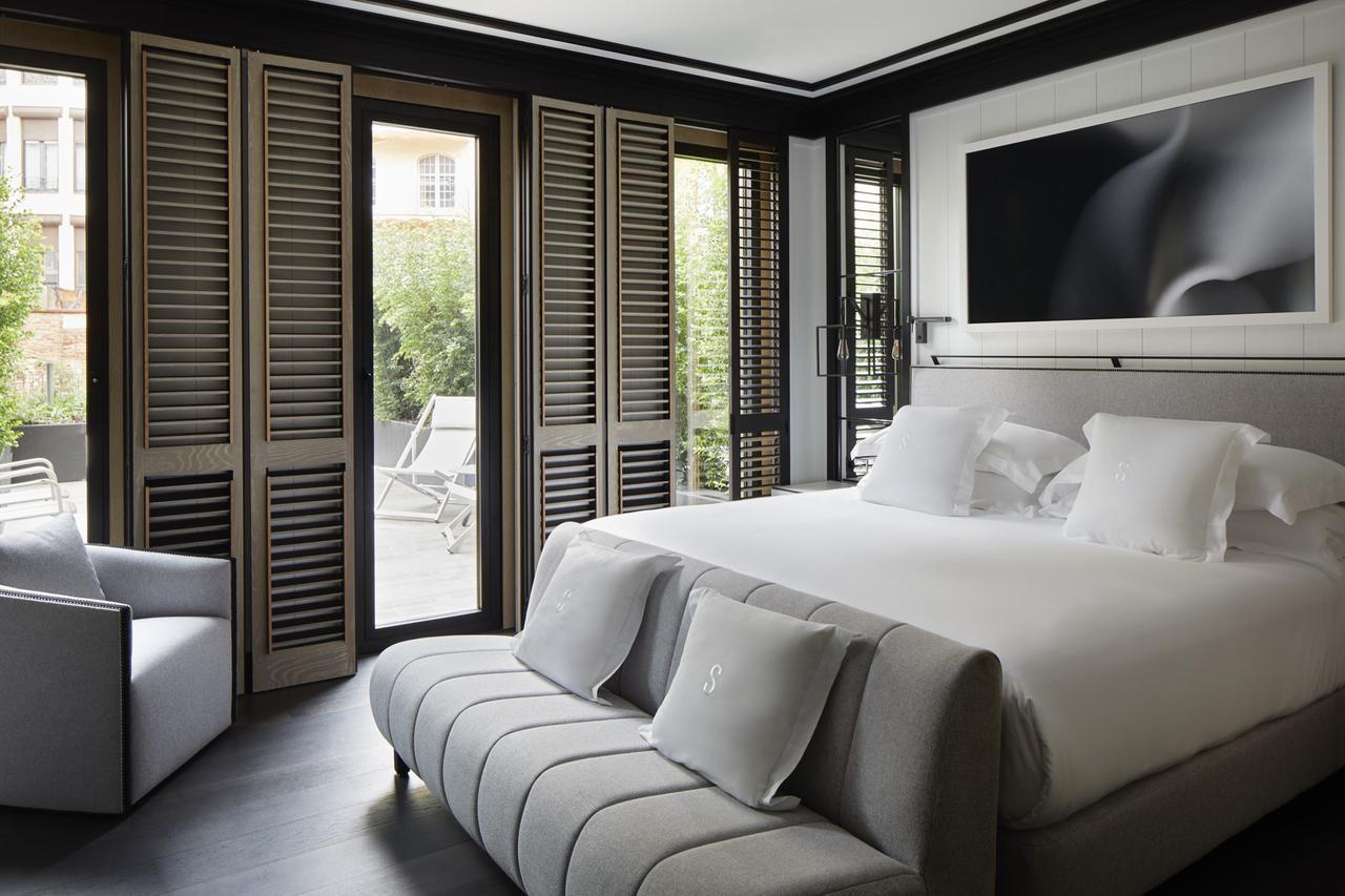 Kamer van het best beoordeelde hotel in Barcelona, Hotel Seventy