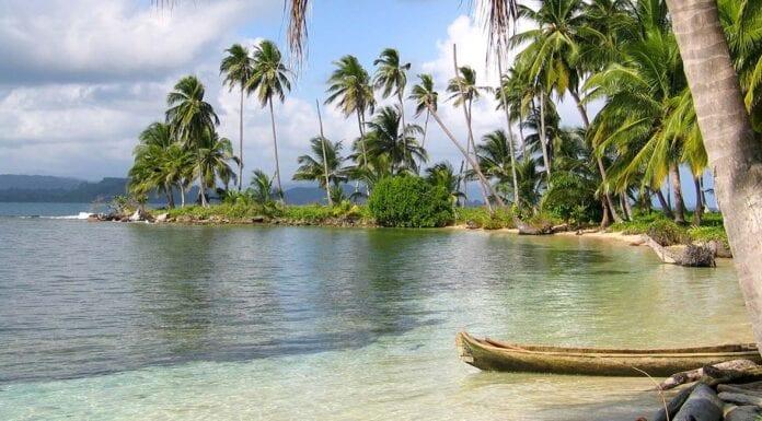 Eilandje van de San Blas eilanden