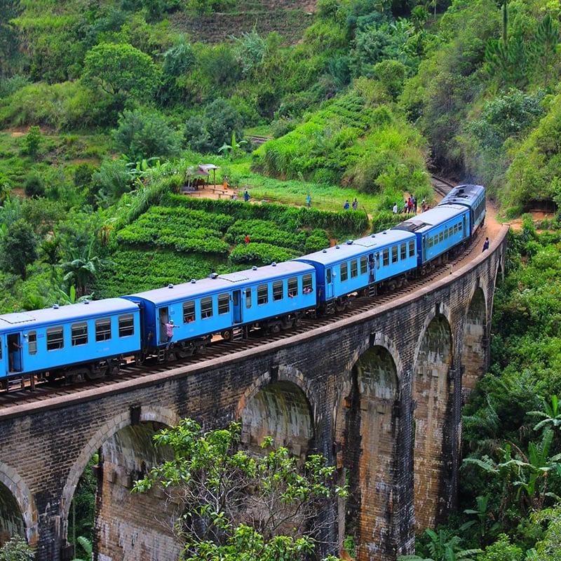 De trein van Kandy naar Ella zou onderdeel van je reis door Sri Lanka moeten zijn