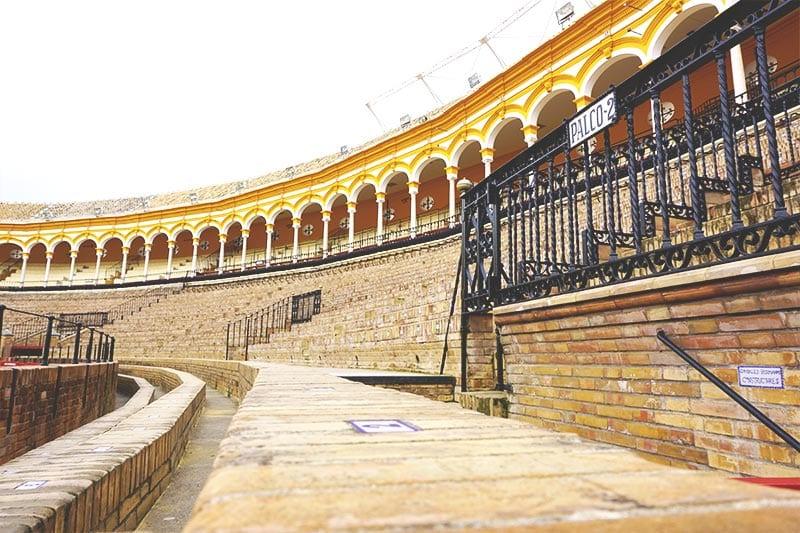 Tribune Plaza de Torros in Sevilla