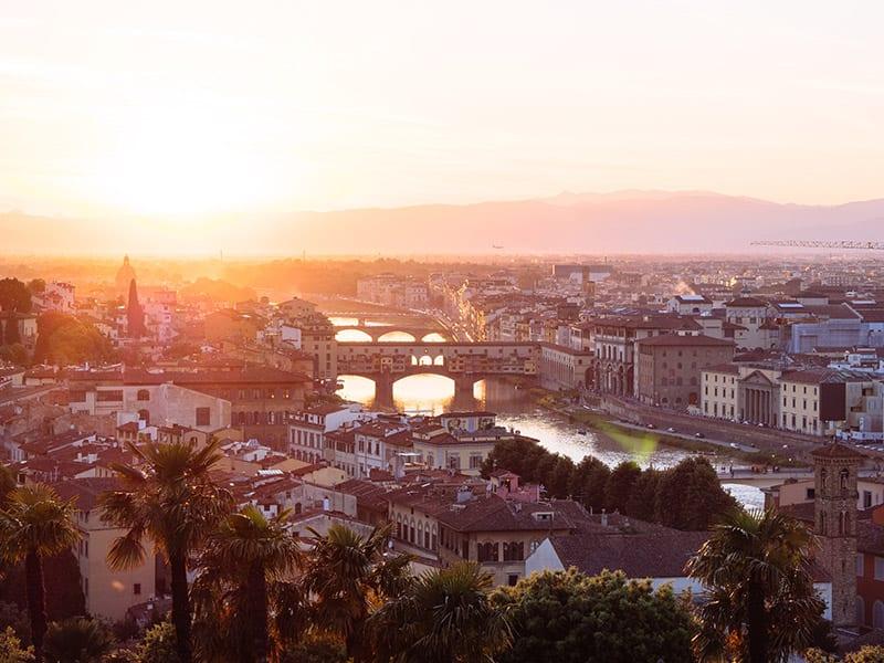 Bezoek Florence Europa met de trein