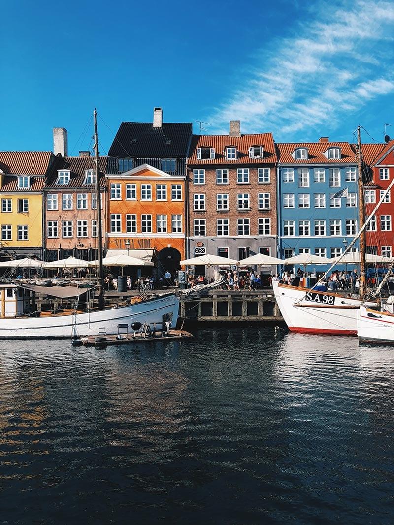De haven van Kopenhagen