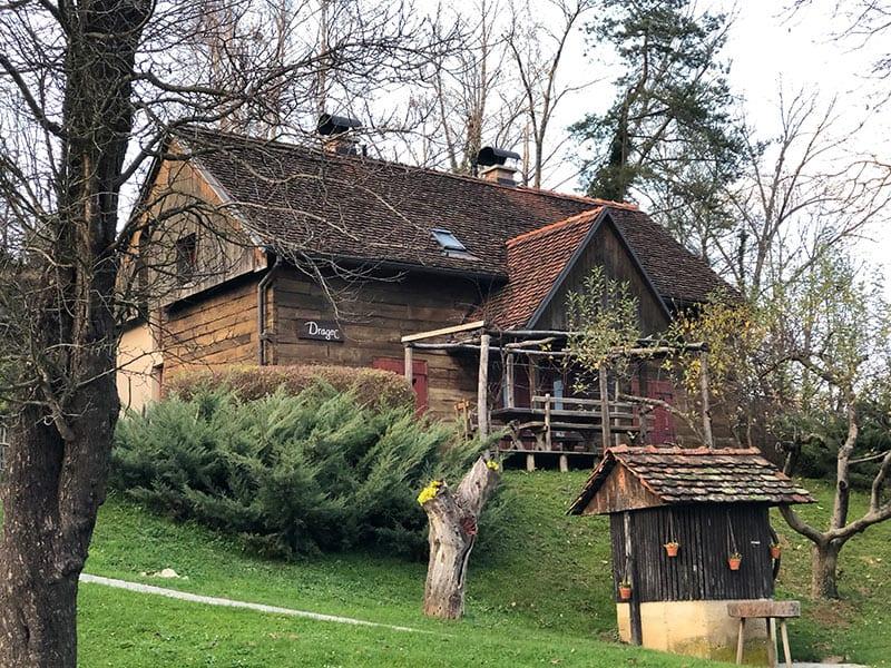 wellness in Kroatië bij huisje vuglec breg