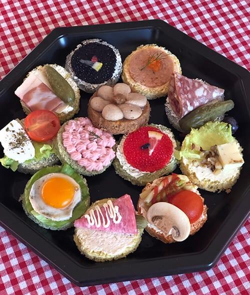 open sandwiches normandie