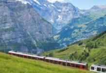 trein door europa