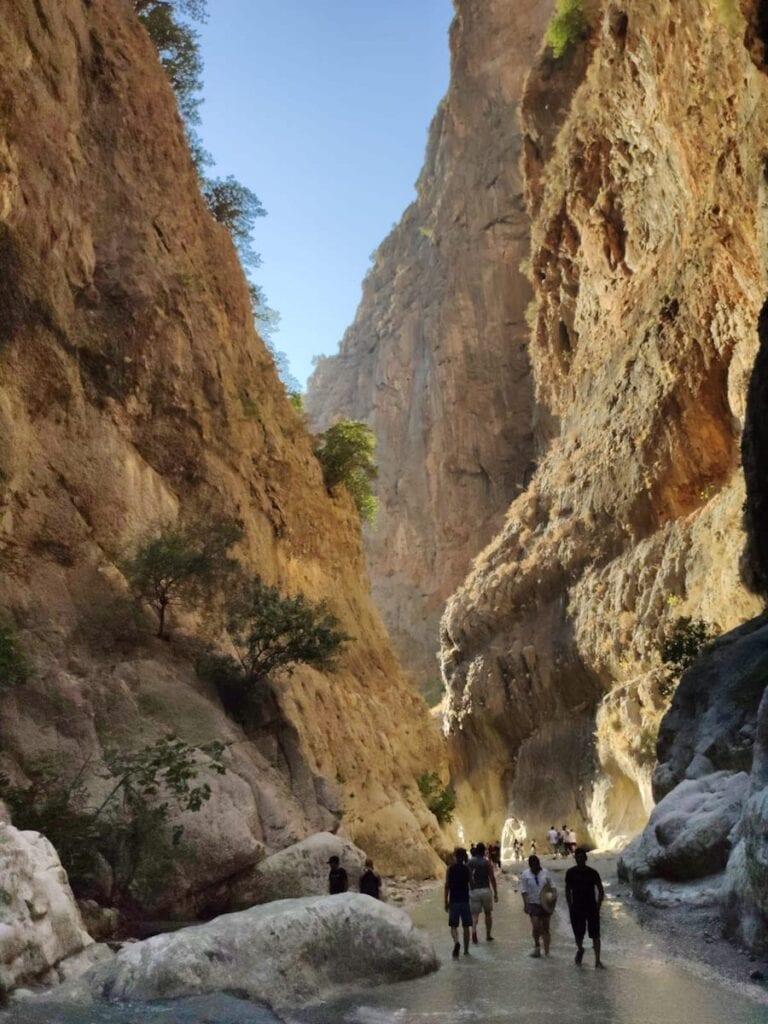 Rivier in Saklikent Gorge Fethiye