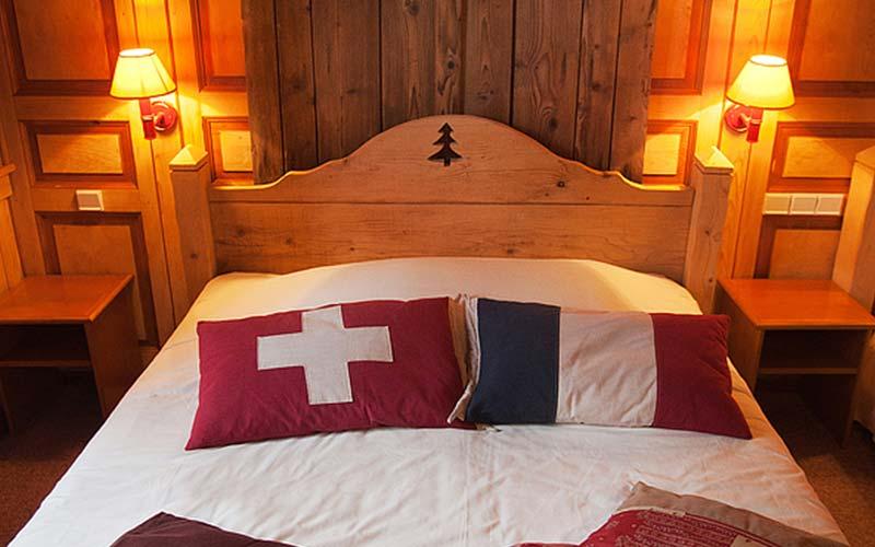 Slaapkamer in Arbez Franco Suisse