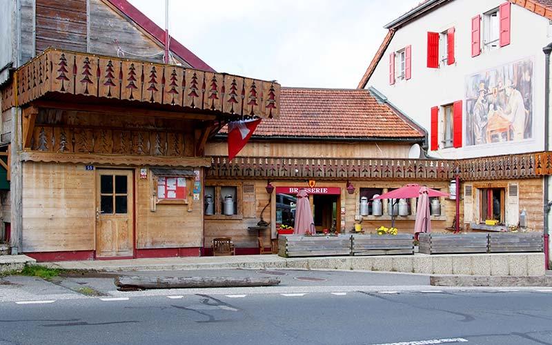 Arbez Franco Suisse in Les Rousses in Frankrijk