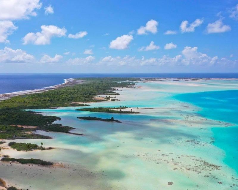 Eiland Tuamotu archipel Frans Polynesie