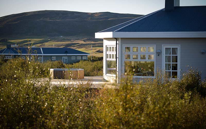 Hotel Grimsborgir Luxury in IJsland