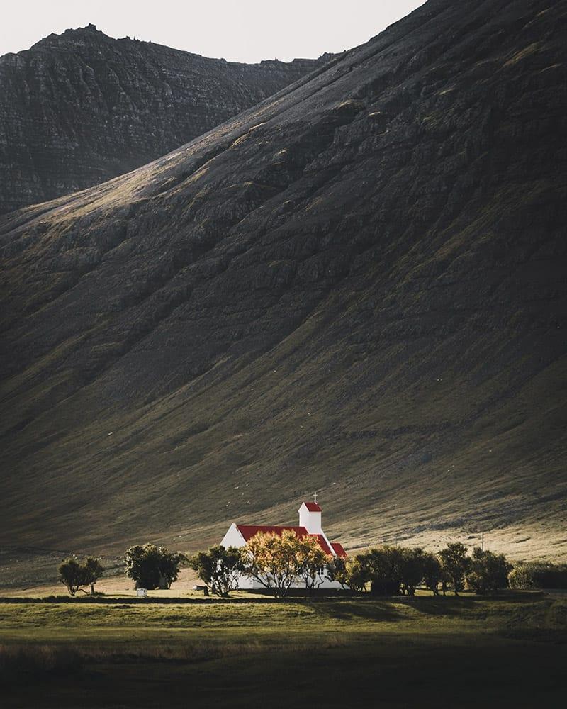 Gebouw in IJsland