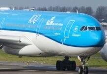 KLM vliegtuig A330