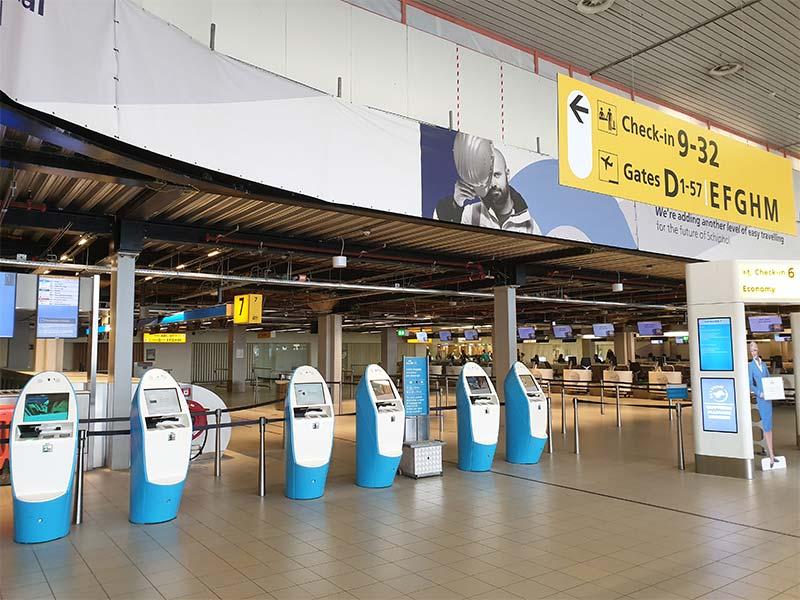 Incheckbalies KLM