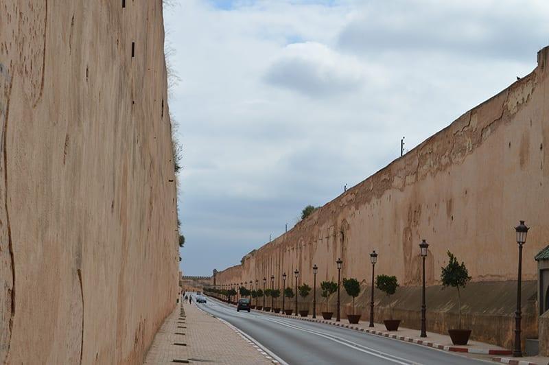 meknes stadsmuren