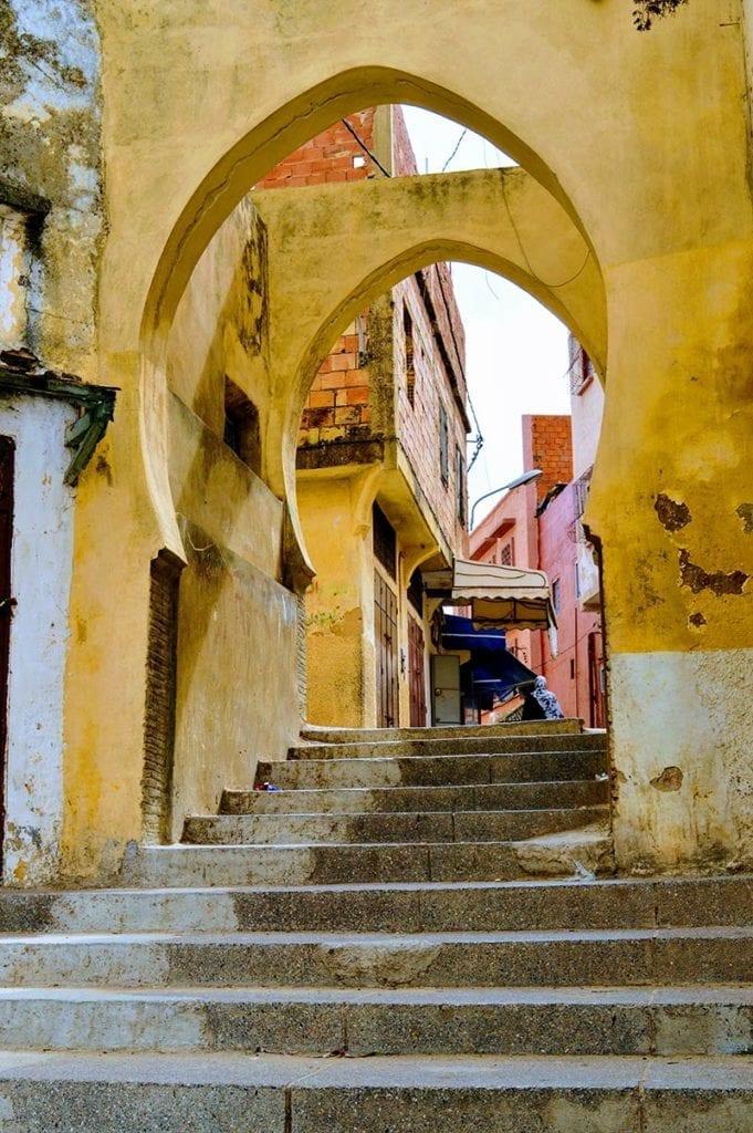 stadspoorten van meknes, een van de Marokkaanse Koningssteden