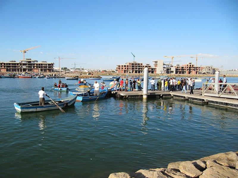 boottochten in Rabat, een van de Marokkaanse Koningssteden