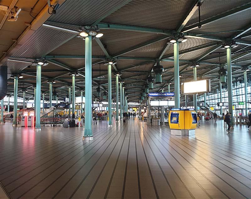 Stationshal Schiphol