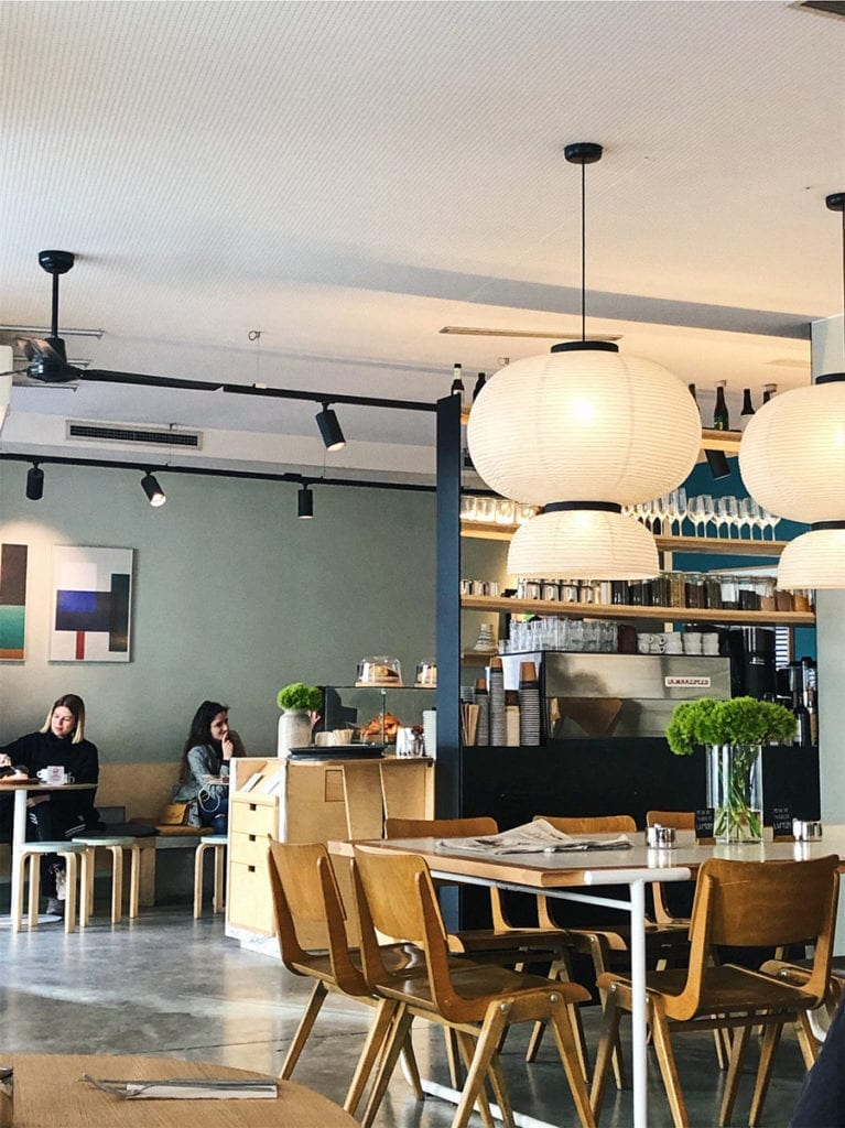 interieur federal cafe