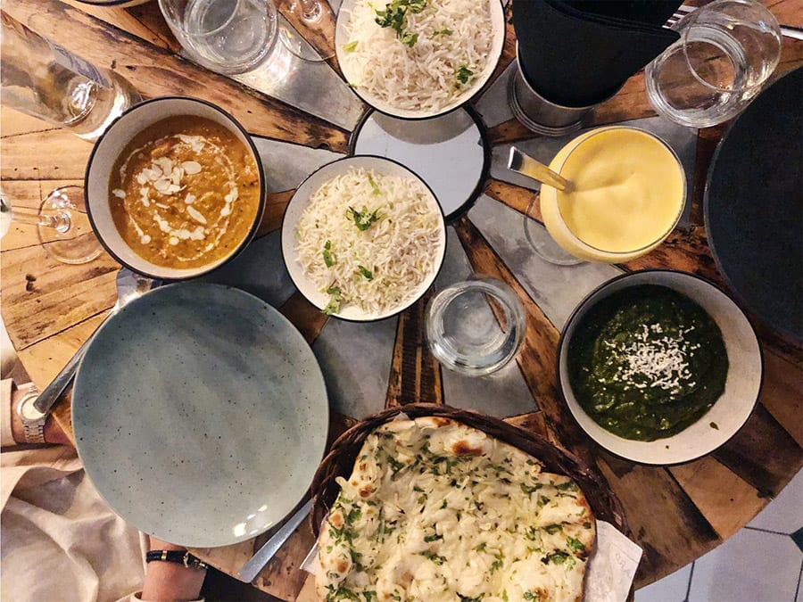 indiaas eten in madrid bij surya