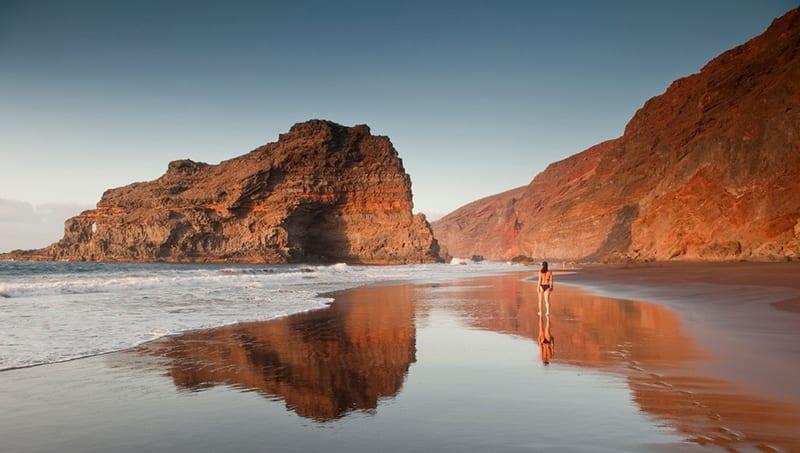 Playa de Nogales, een van de mooiste stranden op la palma