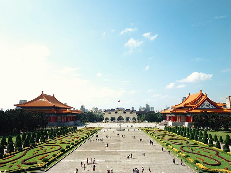 Taipei paleis reis naar taiwan